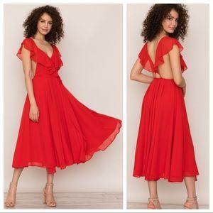 🆕NWT Yumi Kim Mavis Ruffle Bouquet Dress